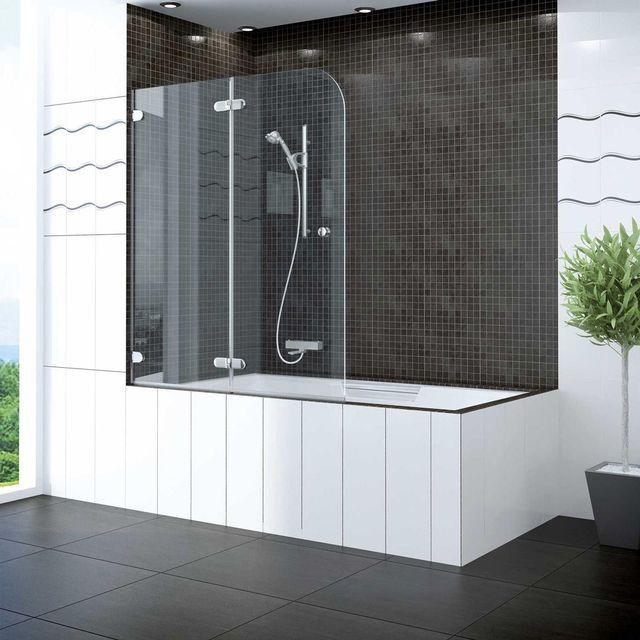 Pare-baignoire pivotant, Pur de Sanswiss, Espace Aubade.