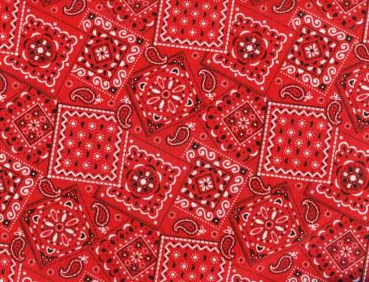 "*NEW* Blazin Bandana from QUYLTE - 100% Cotton 45"" Wide"