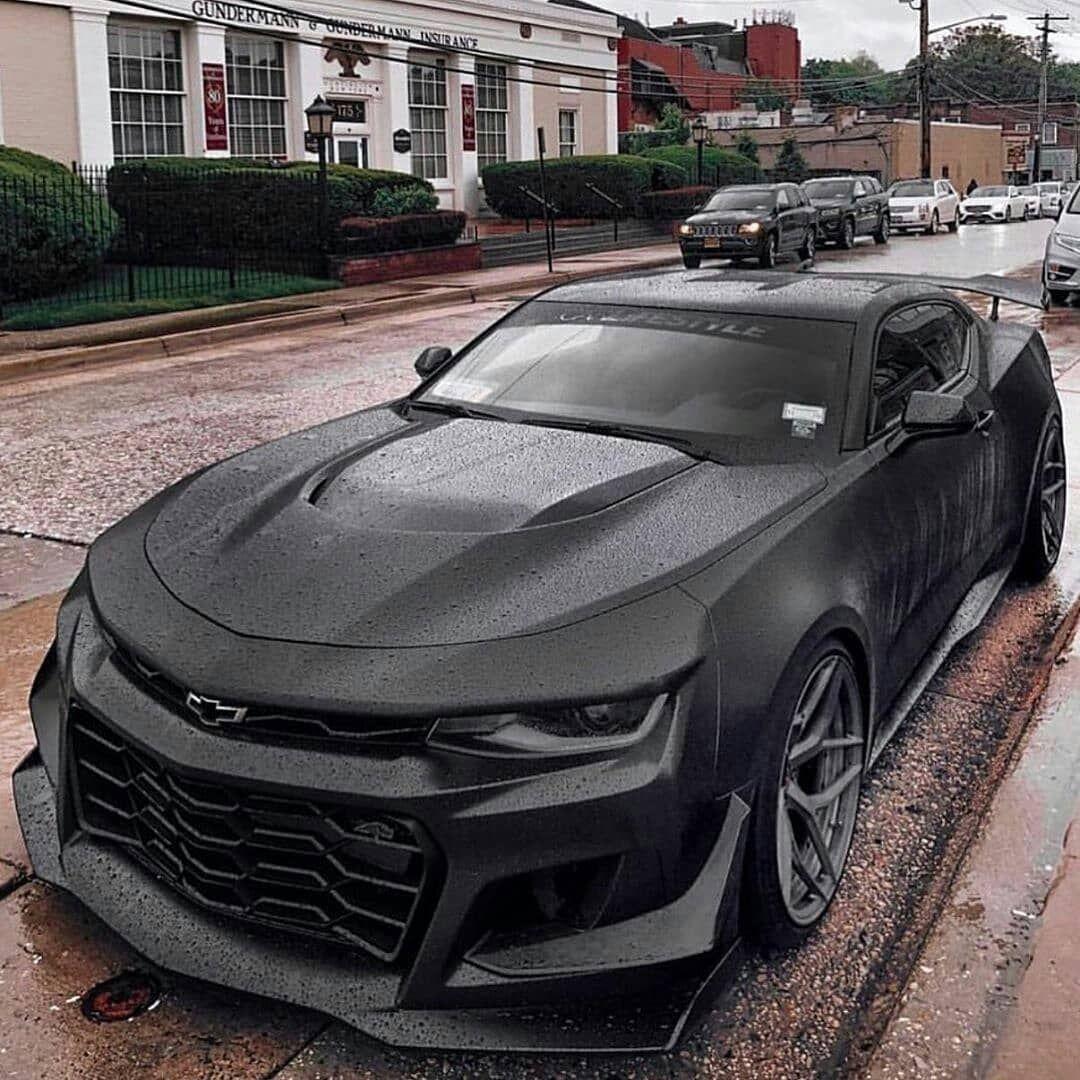 Black Monster Chevy Camaro Chevrolet Camaro Hayalinizdeki