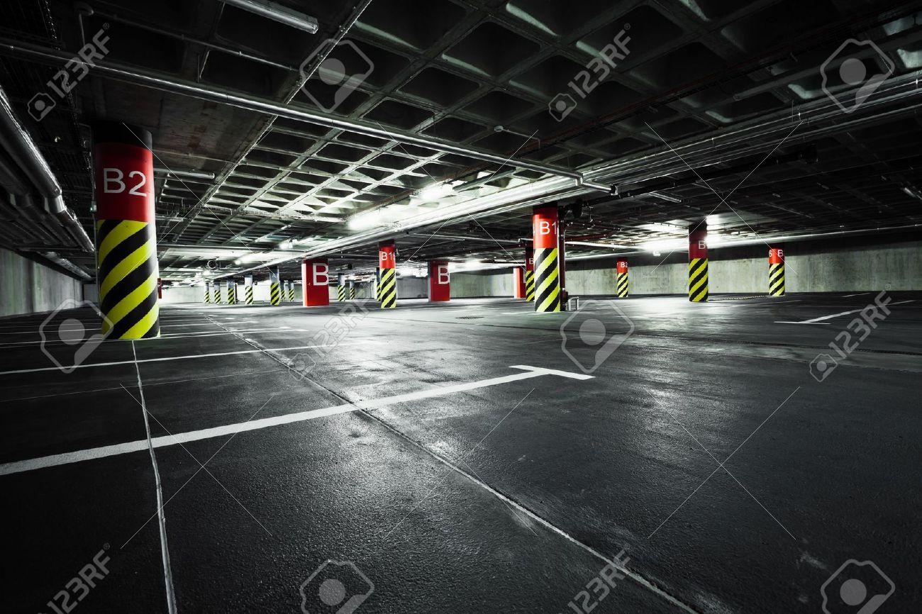 14340981 parking garage underground interior stock photo - Garage sotterraneo ...