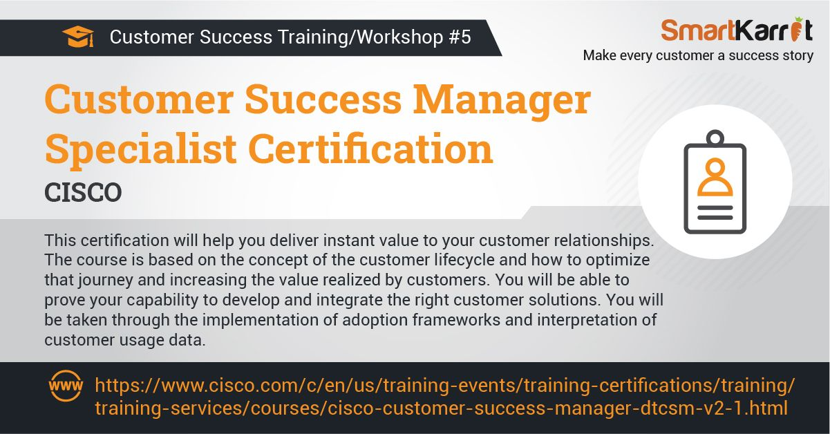 Top 8 Csm Workshop And Training Program In 2020 Customer Relationships Training Programs Success