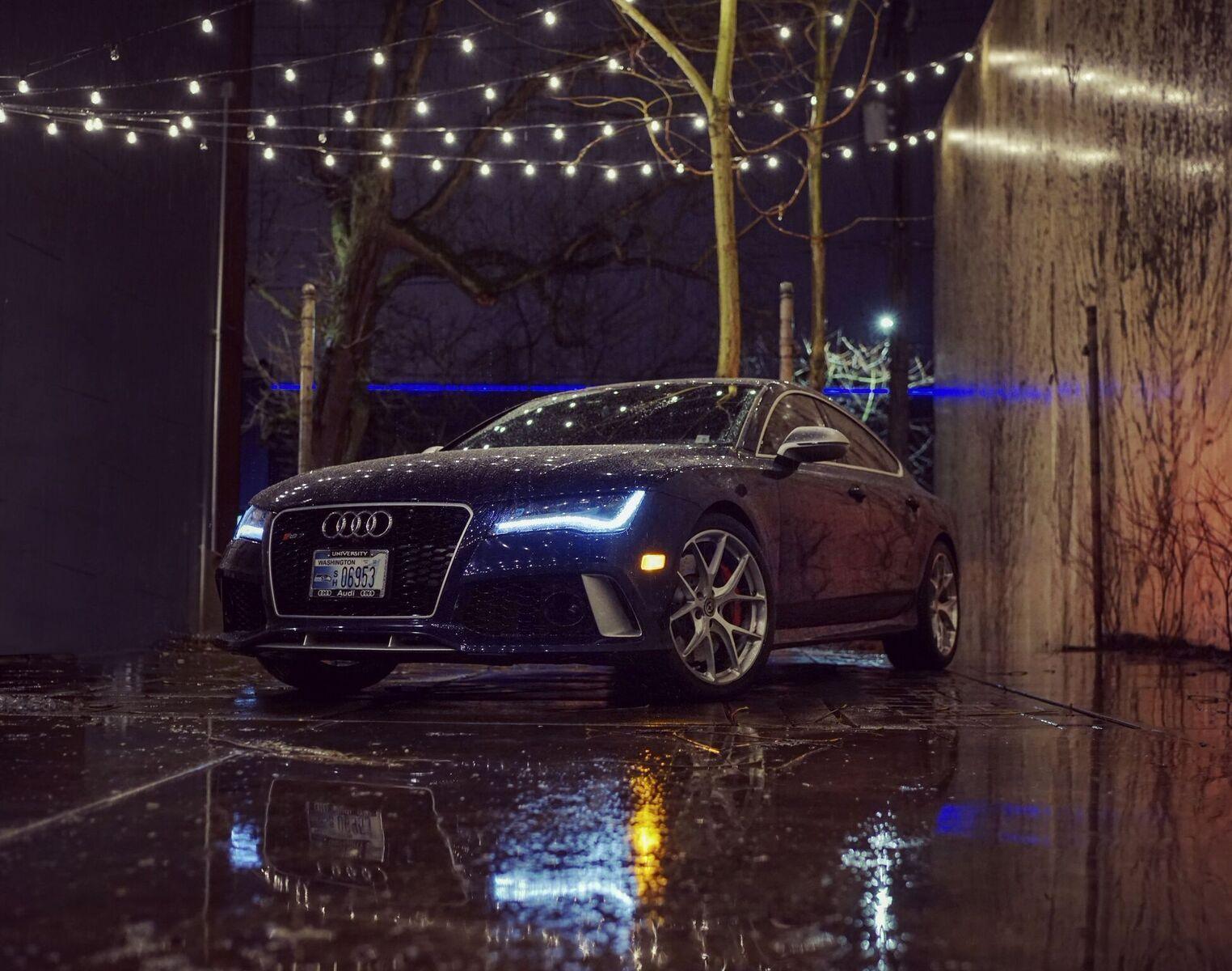RS7 Estoril Blue Fremont Foundry Audi Seattle U