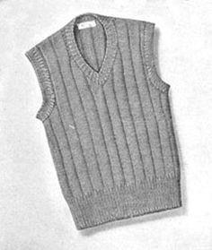 762b0f7f59952b Boy s Sleeveless Sweater Pattern