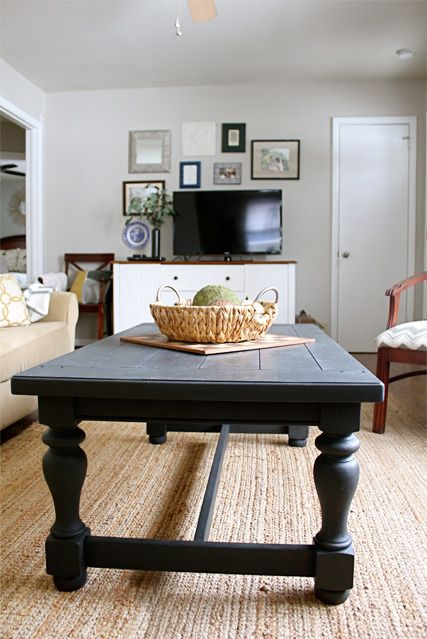 Annie Sloan Graphite Coffee Table | Bricolage | Pinterest | Cocinas