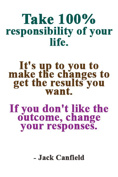 Take 100 Responsibility Of Your Life Best Success Quotes No Response Aging Quotes