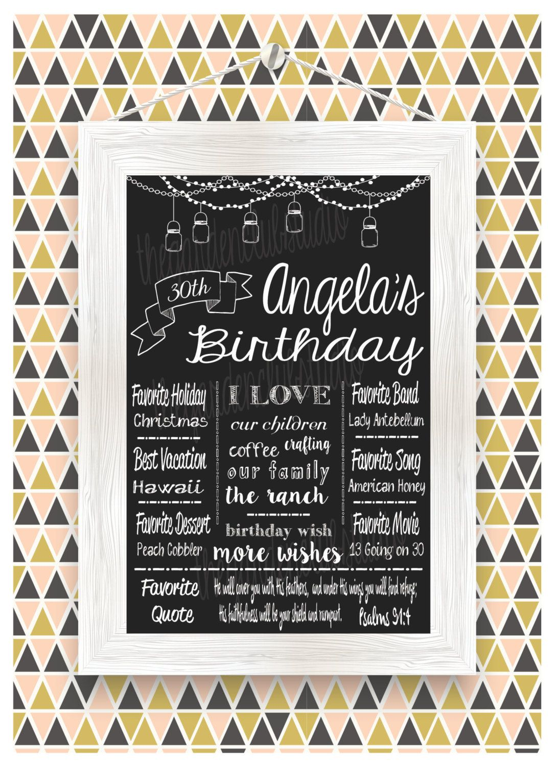 40th 40 30th 30 60th 60 50th 50 milestone birthday sign board custom