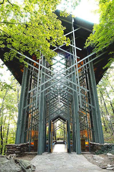 Thorncrown Chapel In Eureka Springs Ak This Is Where