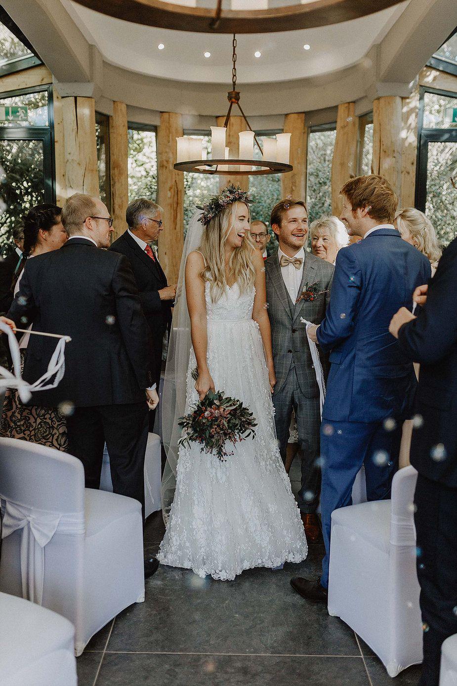 Eine Rustikale Boho Hochzeit Im Herbst Boho Hochzeit Hochzeit Standesamtliche Trauung