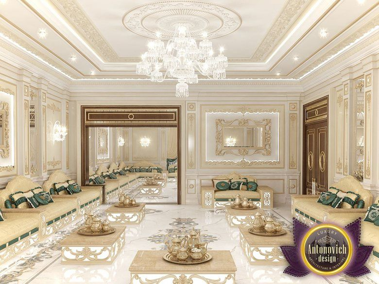 Arabic Majlis Interior Design From Luxury Antonovich Design Katrina Antonovich Palaces
