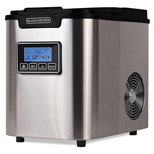Black Decker Bimy126ss 26 Lb Capacity Countertop Ice Maker Bed