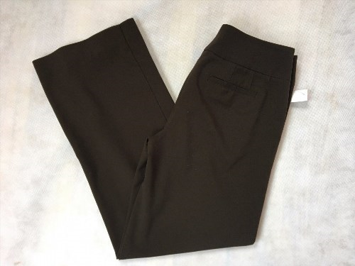 16.81$  Buy here - http://vifqr.justgood.pw/vig/item.php?t=i4fvdue52350 - CHICO'S Women's Brown Straight Career Dress Pants Size 0 Short