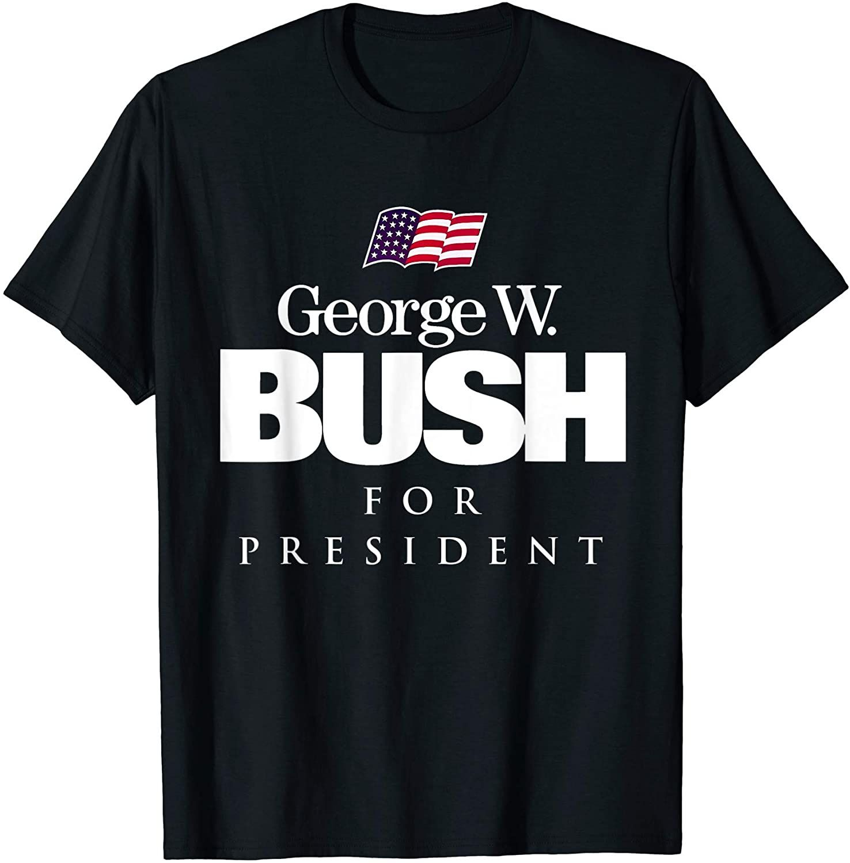 George W Bush For President Vintage Campaign T Shirt In 2020 T Shirt T Shirts For Women Shirts