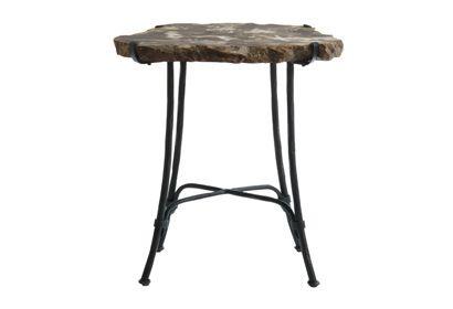 Petrified Wood Slab Table | MYHome Furniture