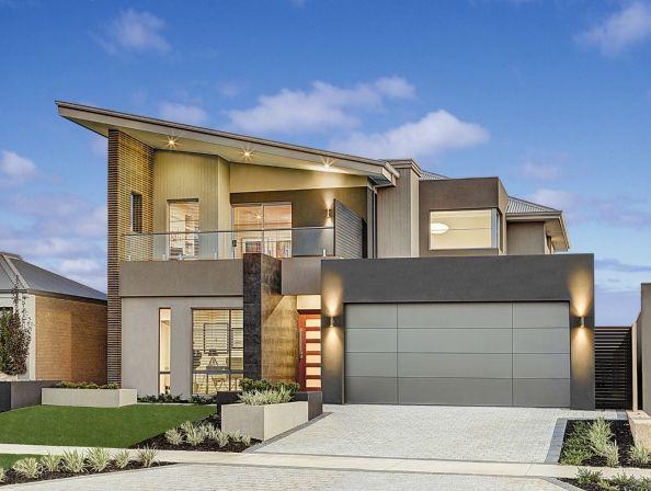 planos de casas de dos pisos modernas descubre cmo distribuir las y en fachada combinar materiales de construccin