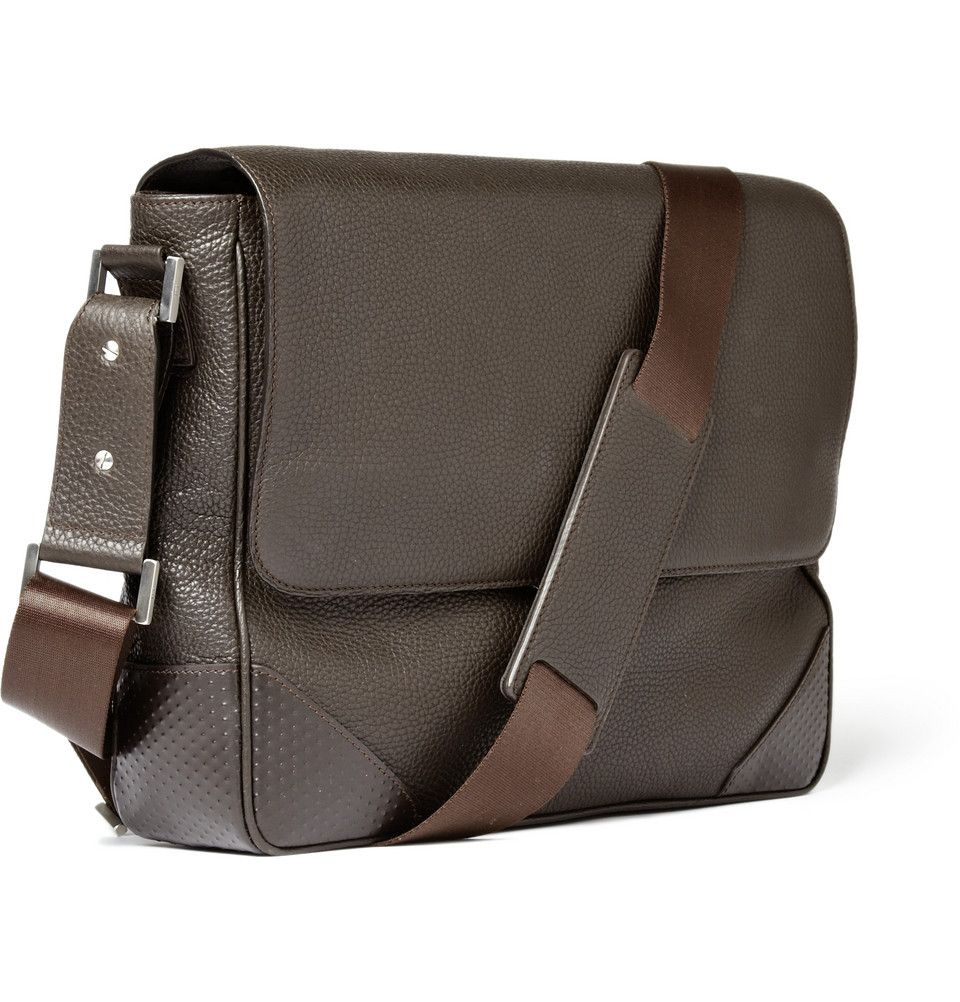Dunhill Mens Leather Messenger Bag 2 600x626 | Bags | Pinterest ...