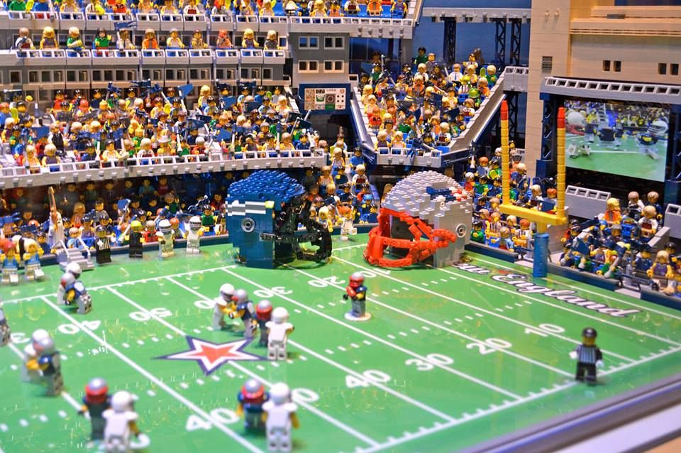 We are ready for Super Bowl Sunday here at LEGOLAND® Discovery ...