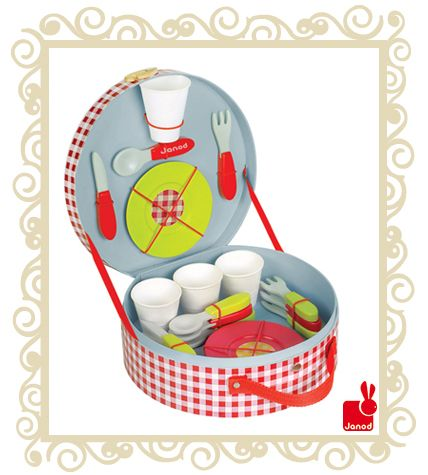 Janod Wooden Toy Picnic H&er Janod Wooden Toy Picnic H&er. A delightful wooden toy picnic  sc 1 st  Pinterest & Janod Wooden Toy Picnic Hamper Janod Wooden Toy Picnic Hamper. A ...