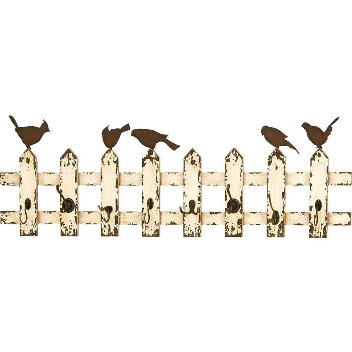 Flock Together Wall Rack  Would Be Cute On An Outside Wall Or Garden Area