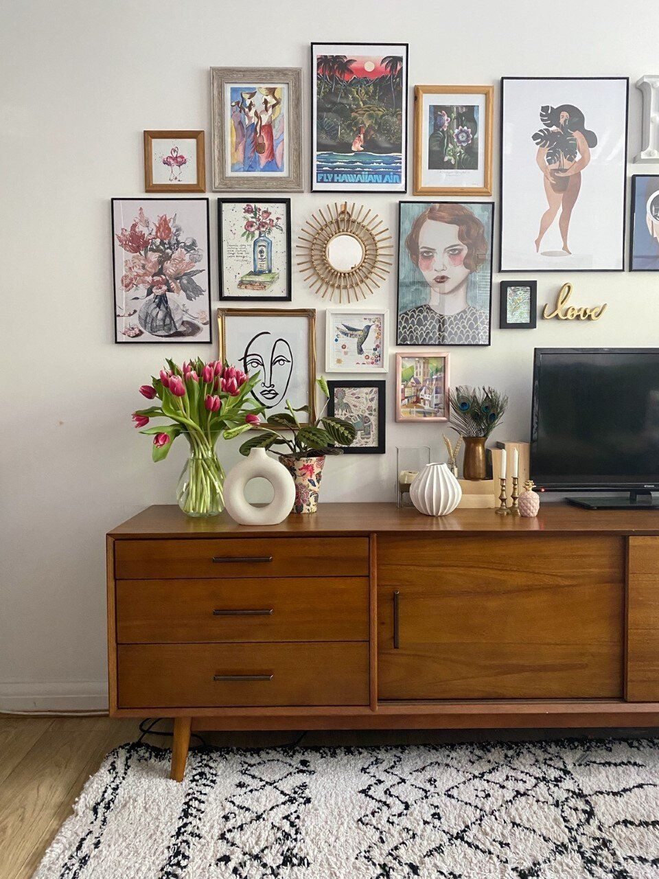 Photo of How To Put Up a Creative Gallery Wall For Your Home – Melanie Jade Design