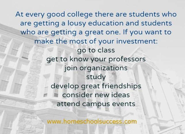Getting A Good College Education Is About More Than Getting Into College College Fun Education College College Success