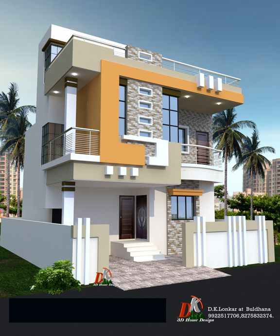 Home Design Ideas Bangalore: House Front Design, Front Elevation