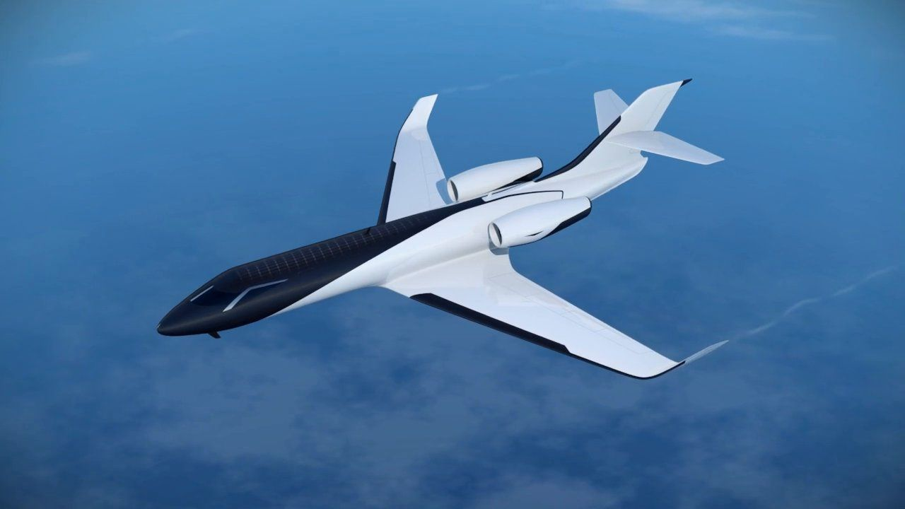 IXION Windowless Jet Concept on Vimeo