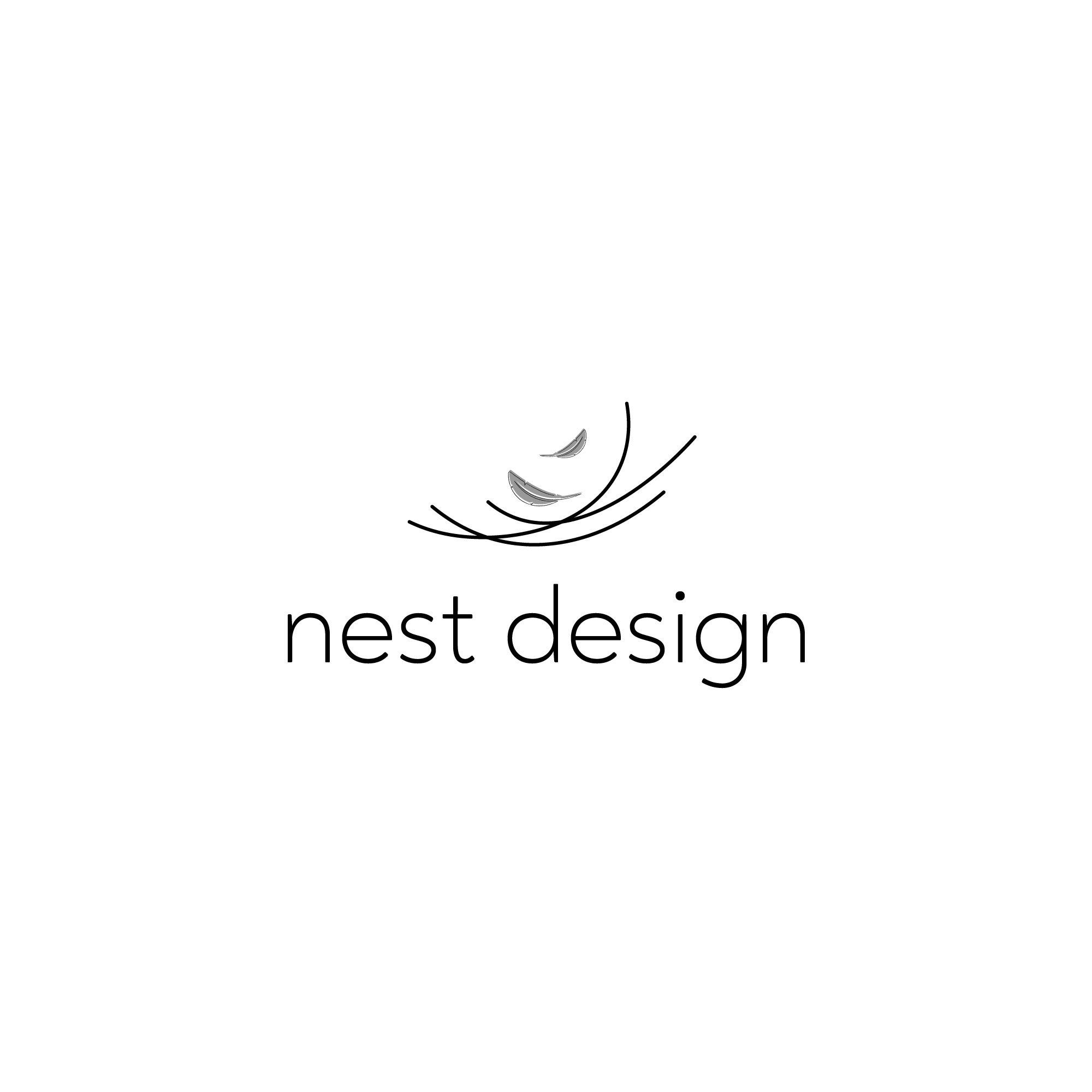Premade Minimalist Luxury Nest Feather Logo For A Life Coach Designer Blogger Consulting Business In 2021 Feather Design Logo Feather Logo Candle Logo Design
