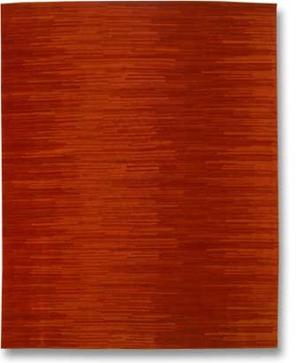 """""""Fusion"""" Hand knotted wool area rug from Delinear"""