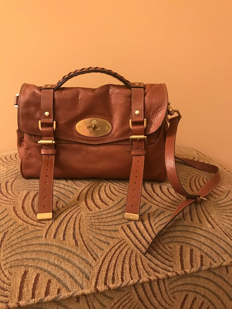5879a6a8a24 Mulberry Alexa Brown Leather Bag. 100% Authentic | Designer Women's ...