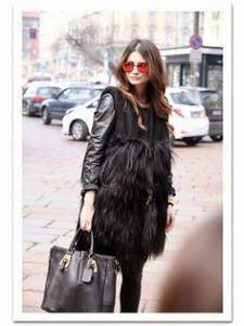 Cómo llevar los abrigos de pelo sintético   fe6973bf0eaf