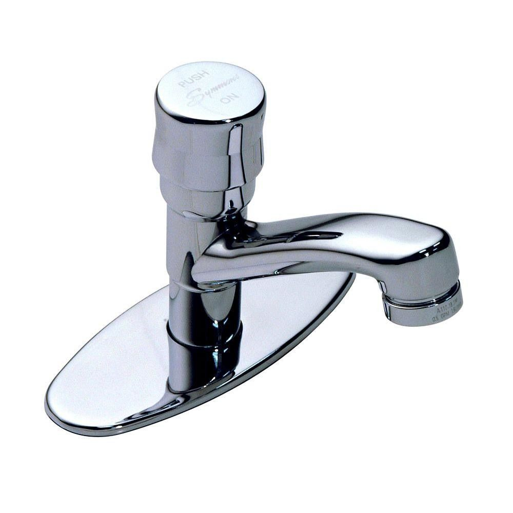 Scot Single Hole Bathroom Sink Faucet With Pump Handle Bathroom Sink Faucets Single Hole Symmons Bathroom Sink Faucets
