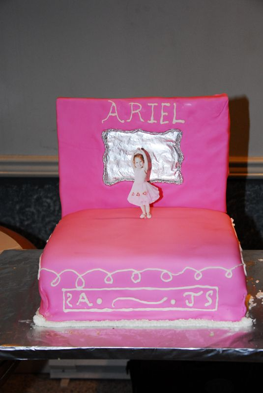 Ballerina Music Box Cake Angelina ballerina and Ballerina birthday