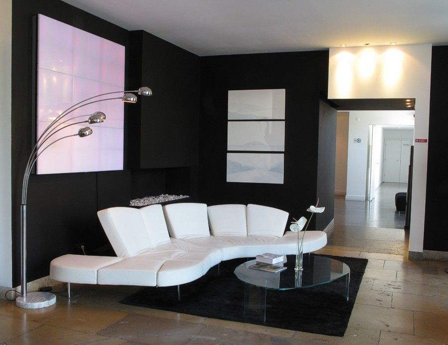 decorar casa en blanco negro y amarillo - Buscar con Google ...
