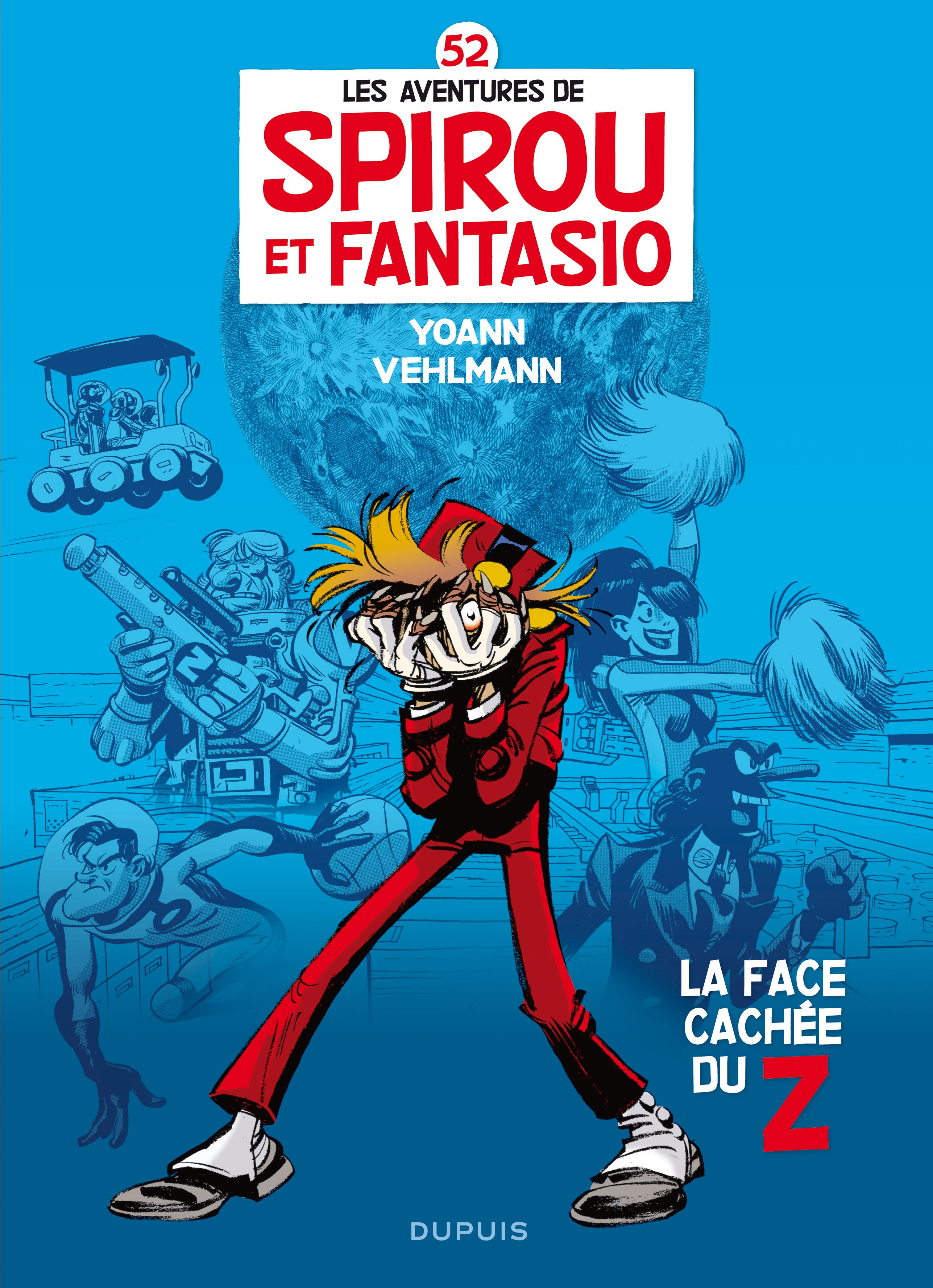 Minimalist Comic Book Covers : Spirou et fantasio bd volume simple g