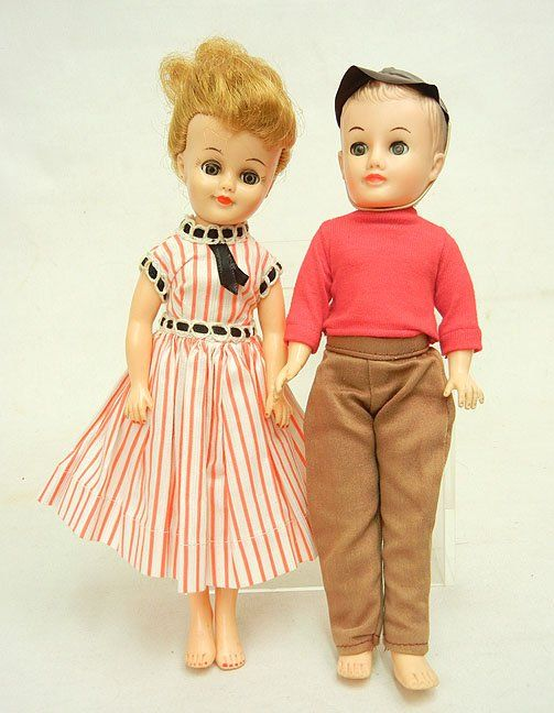 1950s Vogue Jan and Jeff dolls