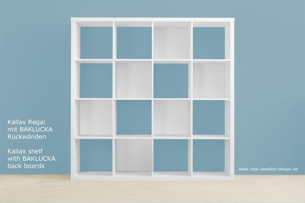 Ikea regalsystem kallax  Baklucka | Blaue Hintergründe, Kallax regal und Boden