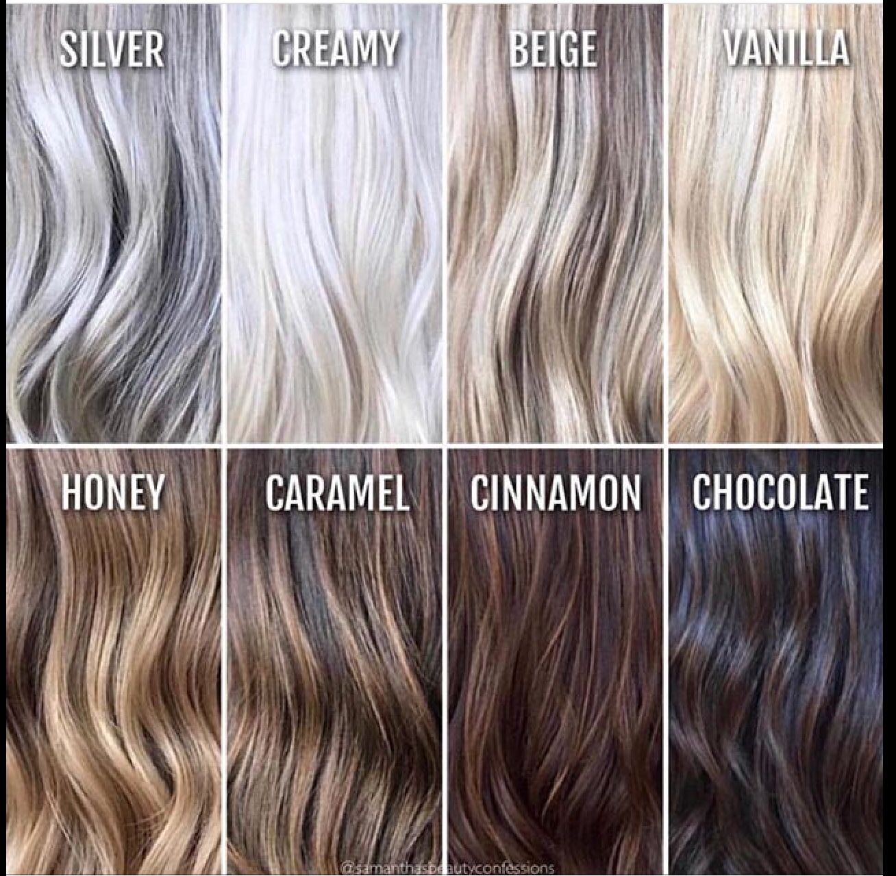 Hair Coloring Comparison Chart Hair Color Chart Hair Color