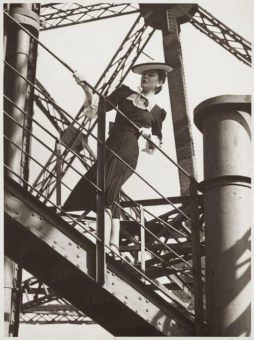 Photo by Erwin Blumenfeld, 1937.