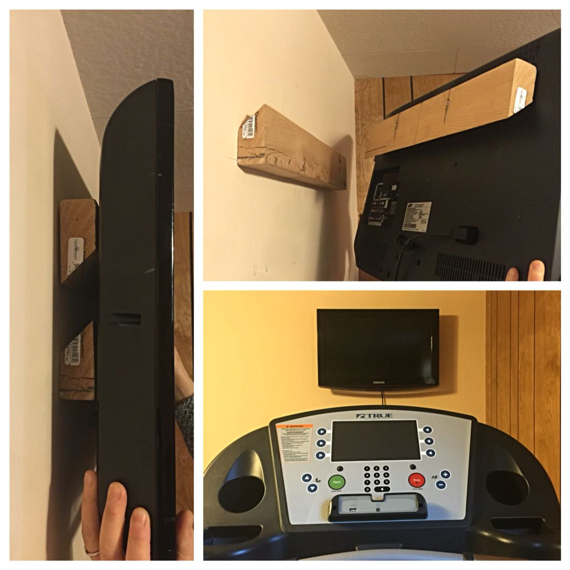 How To Make A Tv Wall Mount Diy Tv Wall Mount Easy Cheap Tv Wall Mounted Tv