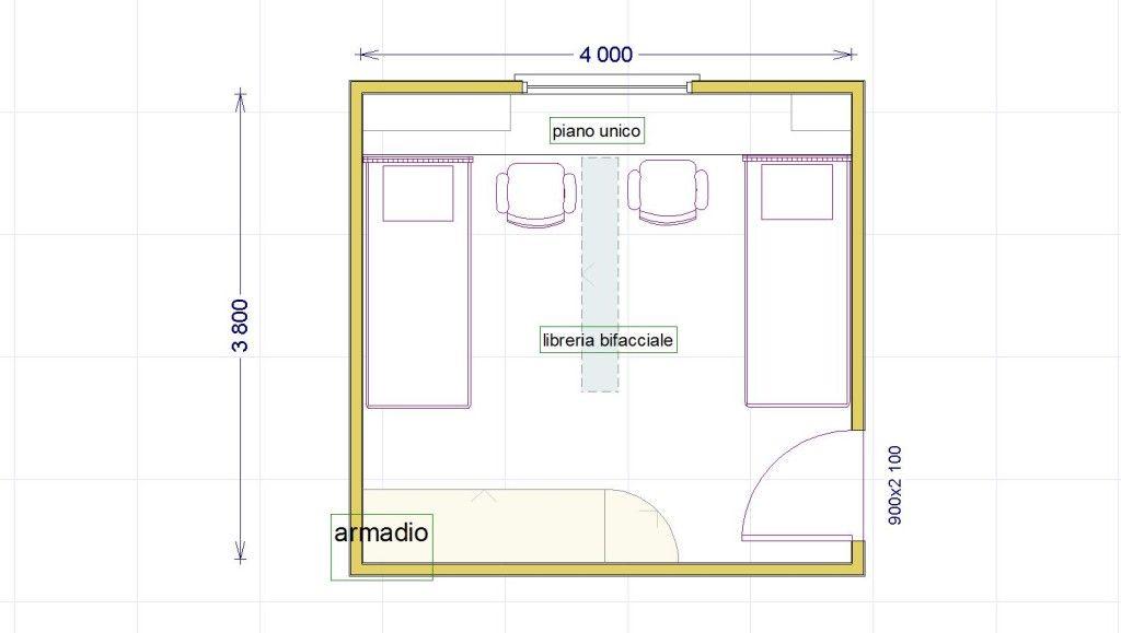 camera divisa bambini Porta laterale, Camerette, Negozi