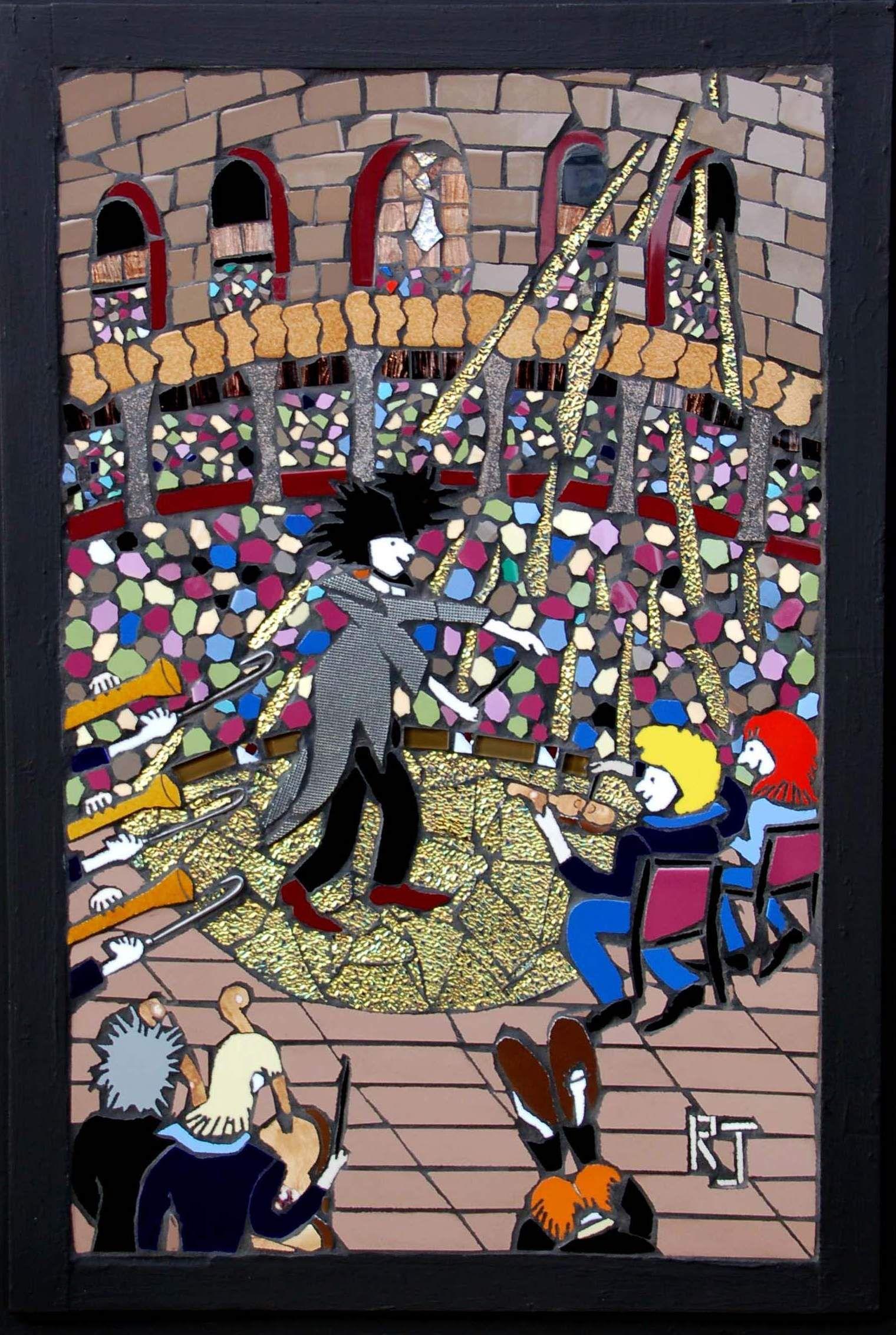 The maestro 75 cm x 50 cm mosaic art wall hanging ceramic 75 cm x 50 cm mosaic art wall hanging dailygadgetfo Gallery