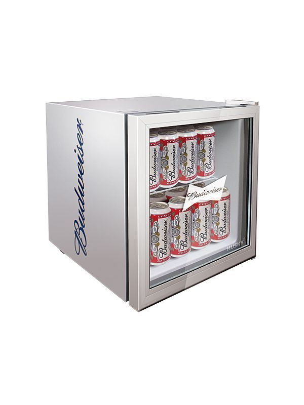 budweiser husky fridge budweiser beer fridge husky. Black Bedroom Furniture Sets. Home Design Ideas