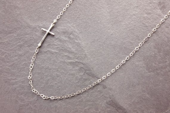 Sterling Silver Satin and Polished Round Together Forever Charm on an Adjustable Chain Necklace