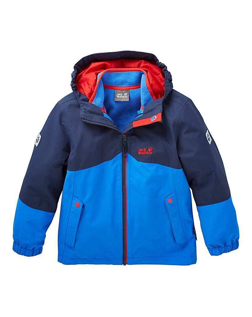 de7929b29 Jack Wolfskin Boys Iceland 3 In 1 Jacket | Products | Jackets, 3 in ...