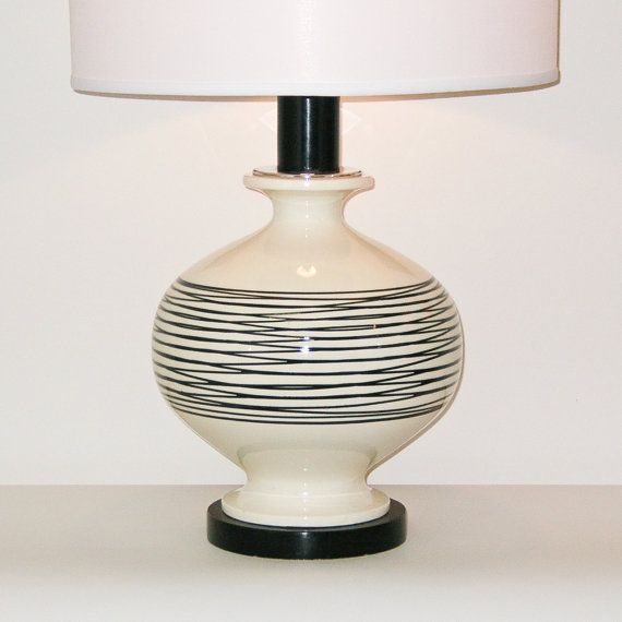 Pottery Lamp By Royal Haeger Pottery Lamp Lamp Modern Pottery