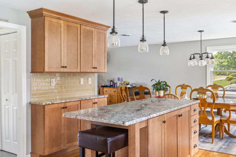 """KCCNE on Twitter: """"#Foxboro #MA kitchen ... in 2020 (With ..."""