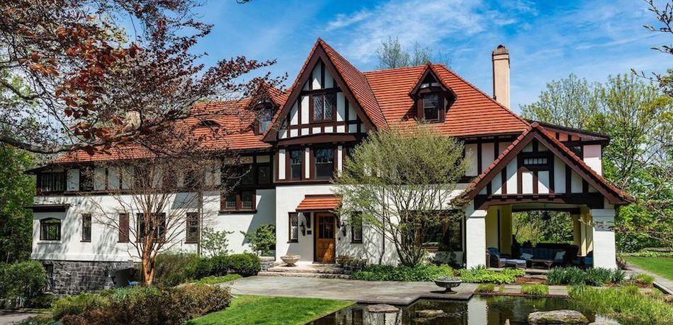 c.1909 Everett N. Blanke House in Greenwich, CT Reduced to