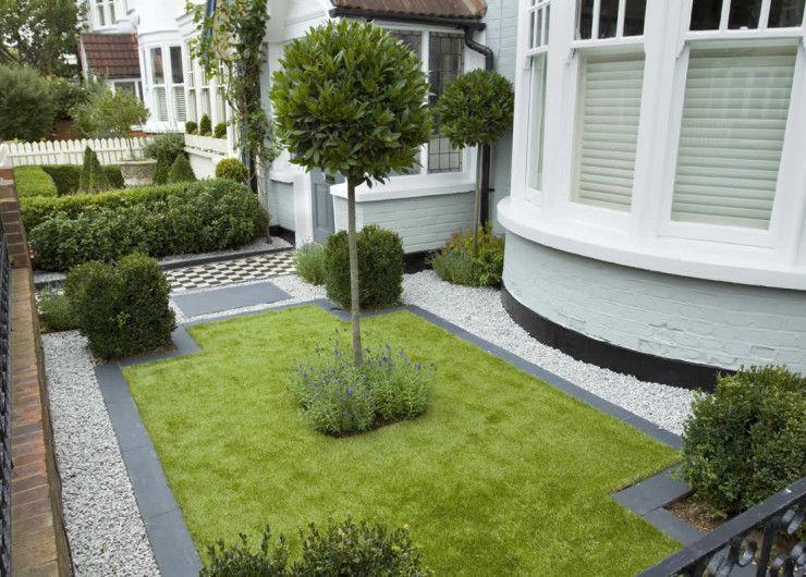 Contemporary Front Garden Design   Yard Oasis   Pinterest ...