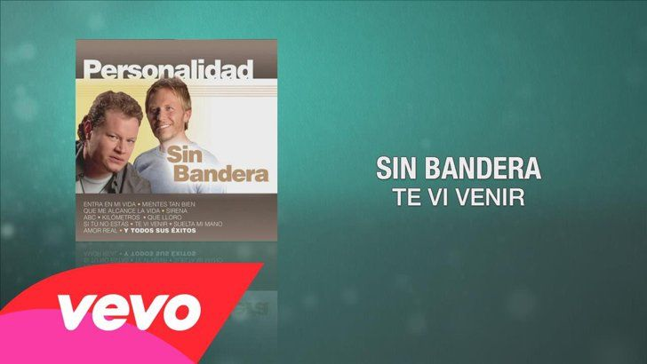 "Pin for Later: This Latin Wedding Playlist Will Make All Your Guests Get Up and Dance! ""Te Vi Venir"" by Sin Bandera Remember when Sin Bandera was still together and made us feel all the feels?"
