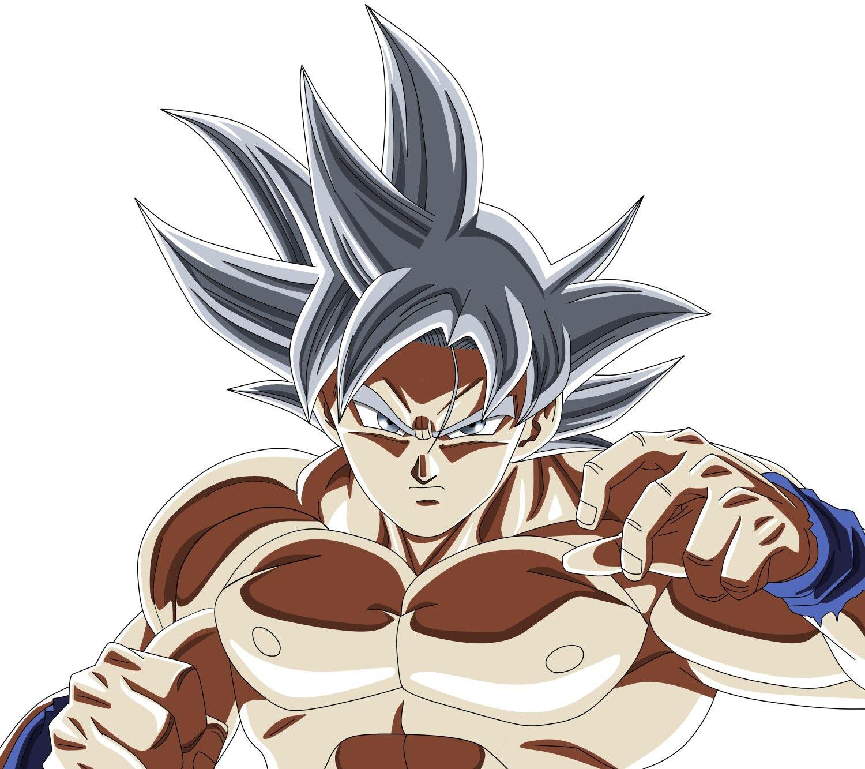 Goku Ultra Instinct Colored Version Of Yuya Takahashi S Art Kid Goku Anime Anime Tattoos